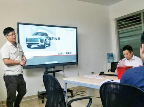 凯发体育英超汽车为首批内训师颁发聘书  -----凯发体育英超内训师队伍建设系列报道之一