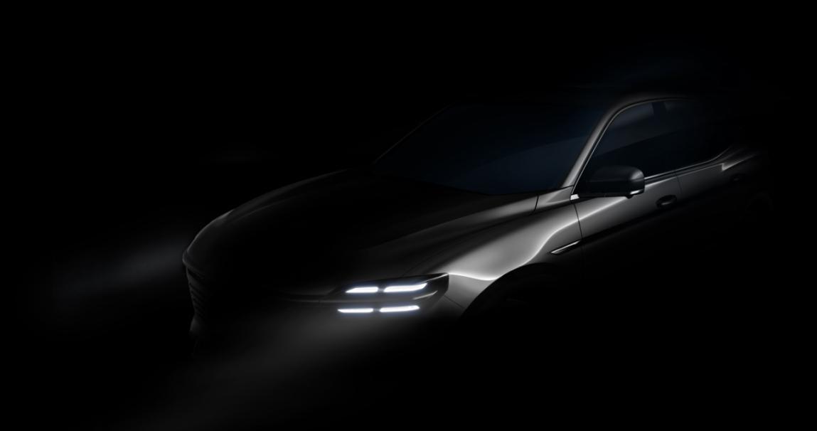 智美天成丨众泰概念车i-across实车设计图曝光 新车将于上海车展全球首发